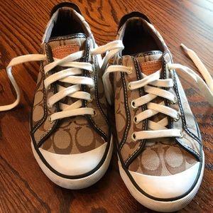 Coach tennis shoes!